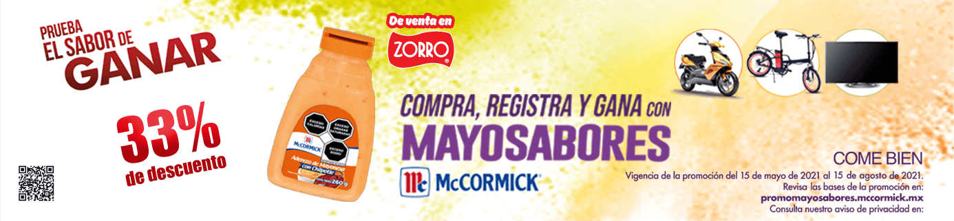 McCormick en Zorro Abarrotero (1)